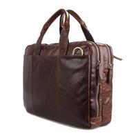 European leather man bag 100% genuine leather handbag retro oil wax leather briefcase computer bag italian leather handbags