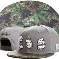 2014 hot brand Cayler Sons Snapback Cap Fashion enjoy smoking flower hat Hip Hop winter Adjustable Snap back Baseball Hats Caps