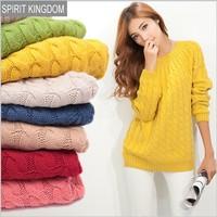 Drop Shipping Tops New 2014 Autumn Spring Sweater Women Wool Turtleneck Pullovers Long Sleeve Cardigan Plus Size Women Winter