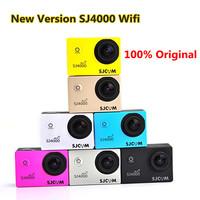 New Version SJ4000 Wifi Action Camera SJCAM Mini Sport DV Diving Full HD DVR DV 30M Waterproof 1080P Video Camera