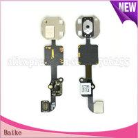 original Home button Menu keypad flex cable For Apple iphone 6 i6 6G 100% Guarantee DHL Free shipping