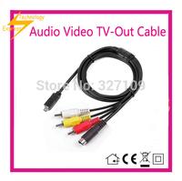 AV A/V Audio Video TV-Out Cable Cord Lead For Sony Handycam HDR-FX1000/e DCR-SR82/e