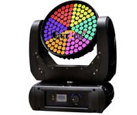 LED Moving head wash light 126pcs*3W(led par light,moving head light,disco light,laser,dmx controller,console