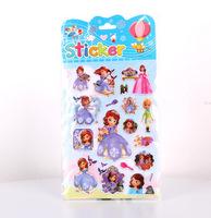 Sofia The Frist Princess Sticker Children Birthday Gift EVA 3D bubble stickers