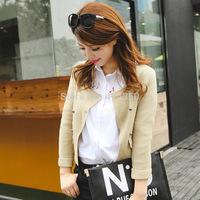 2014 Ladies Coat Korean Version Of The New Winter Sweater Female Short Jacket Cardigan 3 Color