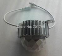 DC24V 120mm diameter UCS2903 LED pixel module;4.32W(18pcs 5050 SMD RGB leds);IP68;with diamond PC cover and aluminium base