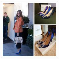 2014 Autumn New MB Luxury Austrian Swarovski rhinestones silk women 10cm  high heels wedding heels  party heels  free DHL/EMS