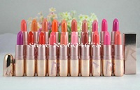 20PCs/Lot New Brand Makeup Limited Edition rihanna riri Lipstick , 20 different colors free shipping