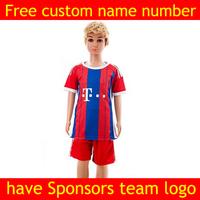 kids jersey 14 15 Home soccer jersey football shrit ropa de kids youth soccer jersey