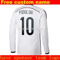 2014 new long sleeve soccer jersey football shirt soccer shirt 2015 jersey