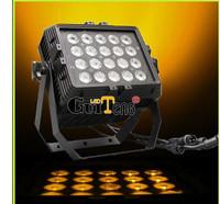 20PCSx18w 6IN1 RGBWAP LED waterproof par Wall wash(profile light,moving head,led par,laser,dmx512 controller,console,theater)