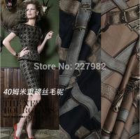 Fabric 40m/m heavy silk wool /1.14 meters wide