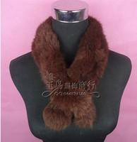 rabbit hair winter thermal muffler scarf thickening women's rabbit fur scarf fur
