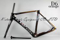 2014 New Design DI2/mechanical carbon De rosa 888 D2 green 52cm superking frame BSA or OEM complete bike ultegra groupset