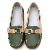 Free shipping 2014 women's flat shoes women shoes genuine leather Oxford shoes round comfort mom shoes 35-40