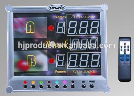 Portable Electric electronic pool billiard Snooker table Scoreboard(China (Mainland))
