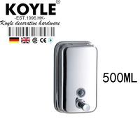 KOYLE - Steel Liquid Soap Dispenser 500ml Soap Box dispenser bathroom accessories automatic soap dispenser dispenser for soap