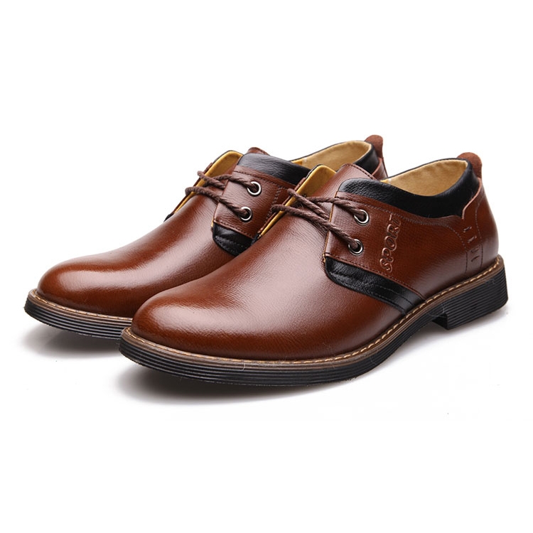 Big Discount Gentleman Office Wearing Shoes High Quality&Comfortable Men Oxfords Shoes with Soft Genuine Leather(China (Mainland))