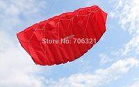 SALE HOT ! 1.6 m 2 Line Stunt Parafoil Power Sport Kite + FREE GIFT