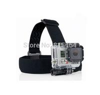 Light adjustable head strap self shooting gopro accessories,elastic belt head mount for GoPro Hero 3+/3/2/1,tripod for camera