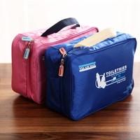 BF015  Multifunctional high-quality hanging waterproof wash bag multifunctional Oxford cloth bag travel