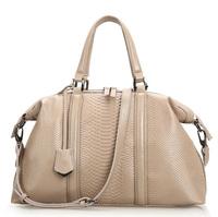 2014 NEW Large Women Genuine Leather handbag Tote / Fashion Snake Grain Shoulder bag girl ladies Crossbody bag Wholesale A016