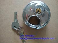 trailer coupling lock, trailer padlocks,  stainless steel disk  lock, anit theft trailer lock, trailer coupler locks 70mm