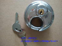 trailer coupling lock, trailer padlocks,  stainless steel disk  lock, anit theft trailer lock, trailer coupler locks 70mm