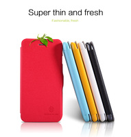 New!Free shipping.Beautiful Original Nillkin colorful Super thin and Fresh Series leather cover house Case for Apple iphone 6 6g