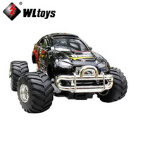 Original WLtoys 3020 Mini RC Remote Control Monster Truck 5 Channel One-key Accelerate Speedy SUV off-road rc Car Electric Model