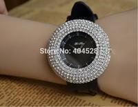 Wholesale Discount Support Fashion Women's Wrist Quartz Watches with Diamond shiny Crystal Rhinestone FreeShipoing