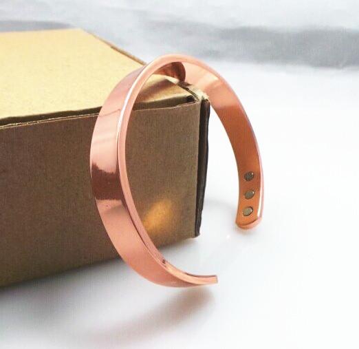 100% медь браслет! 6 магниты Health баланс магнитный чистая медь браслет браслеты для мужчины / женщины
