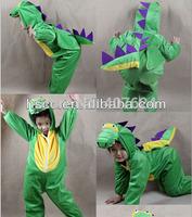 dinosaur costume Halloween Party Cartoon Character Costume Cosplay Performance Costumes Dinosaur  Free Shipping