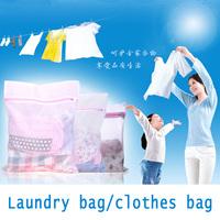1pcs Universal Laundry bag pack Clothes Underware Bra Lingerie Washing Machine Zipper Mesh Storage Bags 30cm 40cm 50cm 60cm