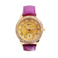 Hot fashion upscale fashion rhinestone Miss Jin Se Rome belt wholesale fashion watches quartz watches