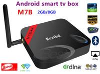 M7B android smart TV Box Amlogic S802 Quad Core Android 4.4 2G/8G 2.4G/5G WiFi 4Kx2K HDMI XBMC Miracast/DLNA bluetooth smart TV