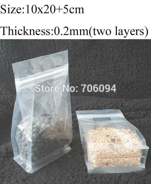 Clear Square Plastic Bags Clear Plastic Bag,ziplock