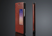 Luxury Grand Cover case For huawei ascend p7  filp book leather case for Huawei p7 With Stand Holder+freeship +track number