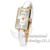 2014 New Lady  Watches Leather Quartz Watches Gogo 052 Women Wristwatches Fashion  Wristwatches Dropship