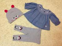 Children's  set  2014  New  Retail  Brand  fashion  spring/autumn  long  sleeve print  pattern girl's  set  blouse+hat+pants