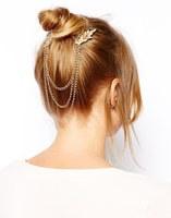 Free Shipping Bohemia gem Hair Combs gem hair chain