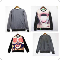 Funny Woman Printing 3D Hoodies Unisex Sweaters Pullover Sweatshirts Long Sleeve 3D T Shirts factory price fast delivery