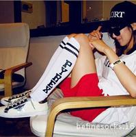 Japanese Harajuku ayumi Pyrex vision sport stockings GD striped socksing skateboard 5 color