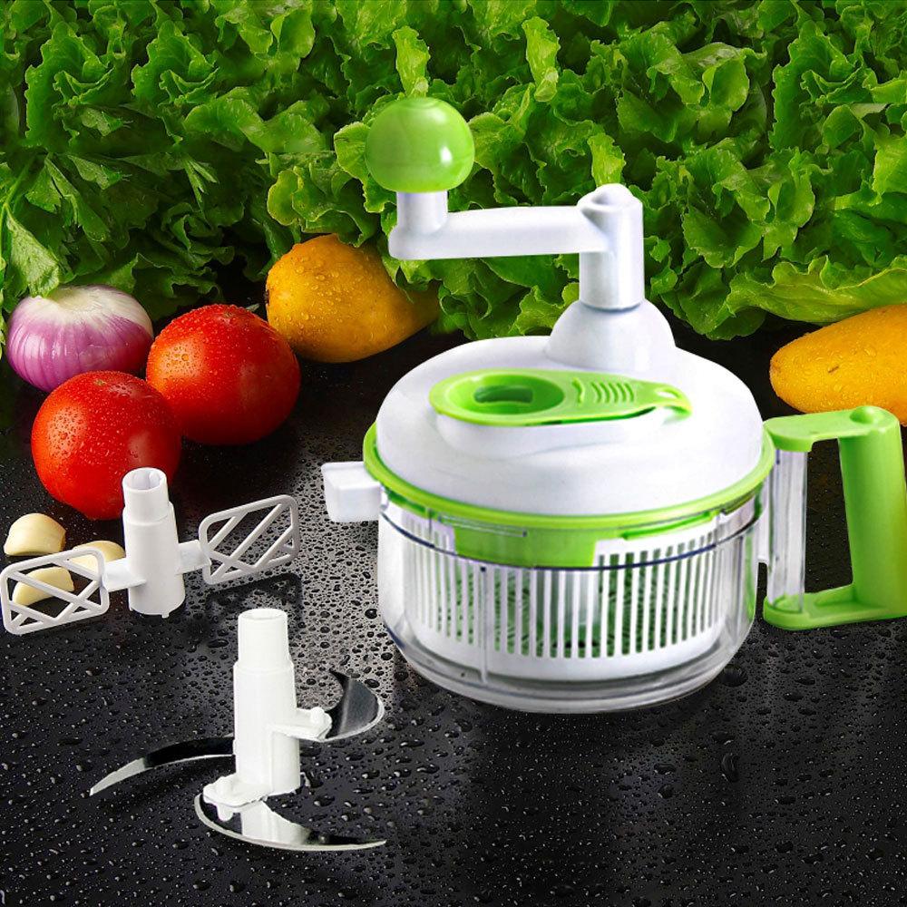 Manual Food Processor Shredder Pie Stuff Meat Mincer Grinder Chopper Slicer Food Processer(China (Mainland))