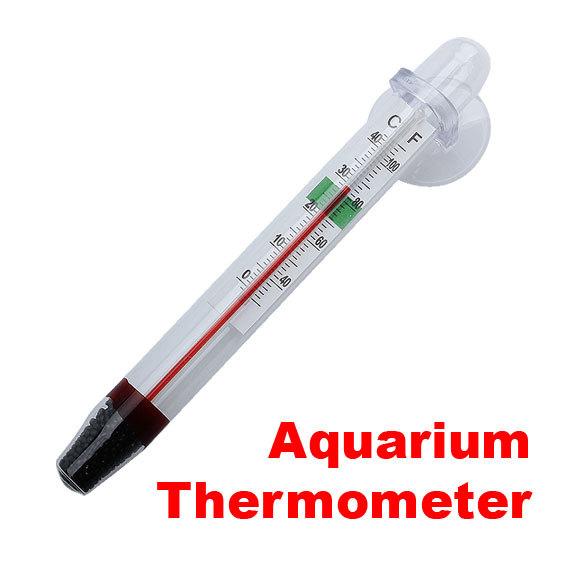 New Fish Tank Aquarium Thermometer Decoration Free Shipping E5M1(China (Mainla