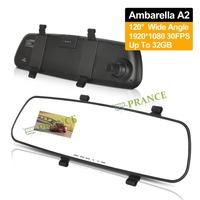 Ambarella A2 S6 Rearview Car Mirror Dvr 2.7'' Screen 1920*1080P 30FPS Night Vision+ G-SENSOR Car Monitor Rearview Mirror C3-0