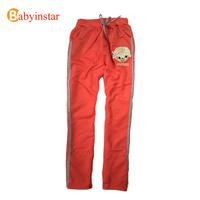 Cartoon Doll Print Girls Sports Pants:Kids Sweatpants Cotton Children Trousers Spring Autumn Loose Girl's Pants.2014 New Arrive
