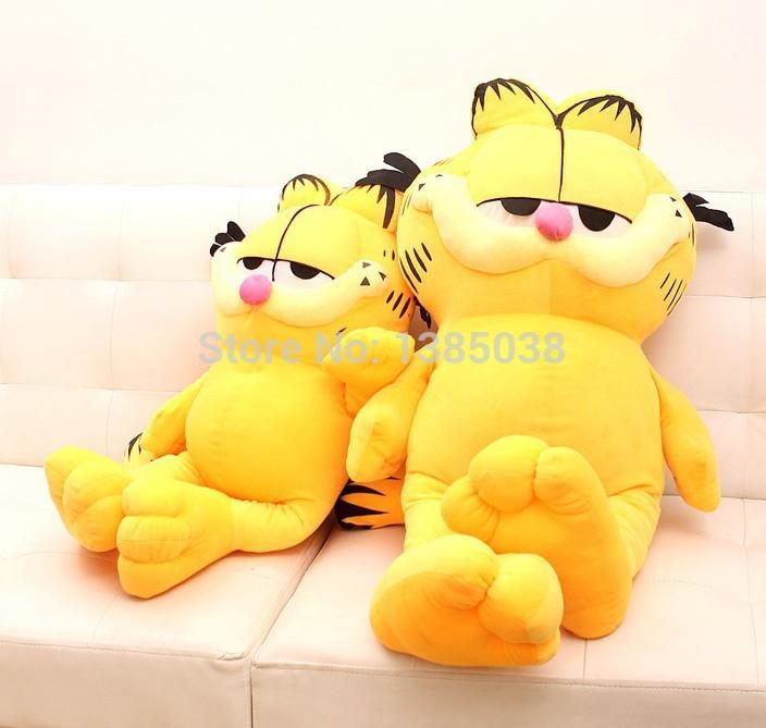 Elegant Cute Movie Idol Garfield Plush toy PP stuff baby doll 30cm best gift for kids Free Shipping(China (Mainland))