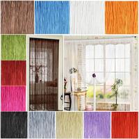Decor Tassel String Curtains Patio Net Fringe Door Fly Screen Windows Divider