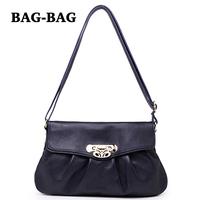 2014 NEW GENUINE LEATHER Women shoulder bag 100% REAL cow skin crossbody Bags Stylish Flap handbag girl Fashion Purse B389